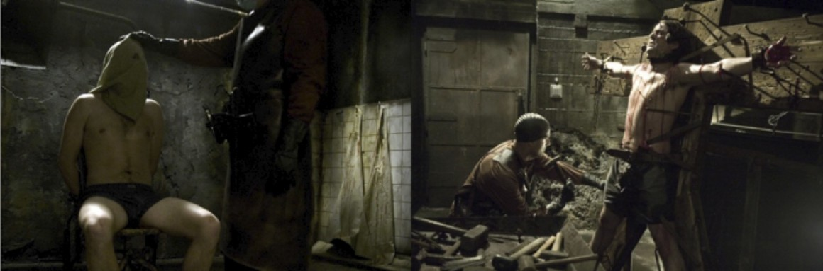 """Hostel,"" Two Images. (2005)."