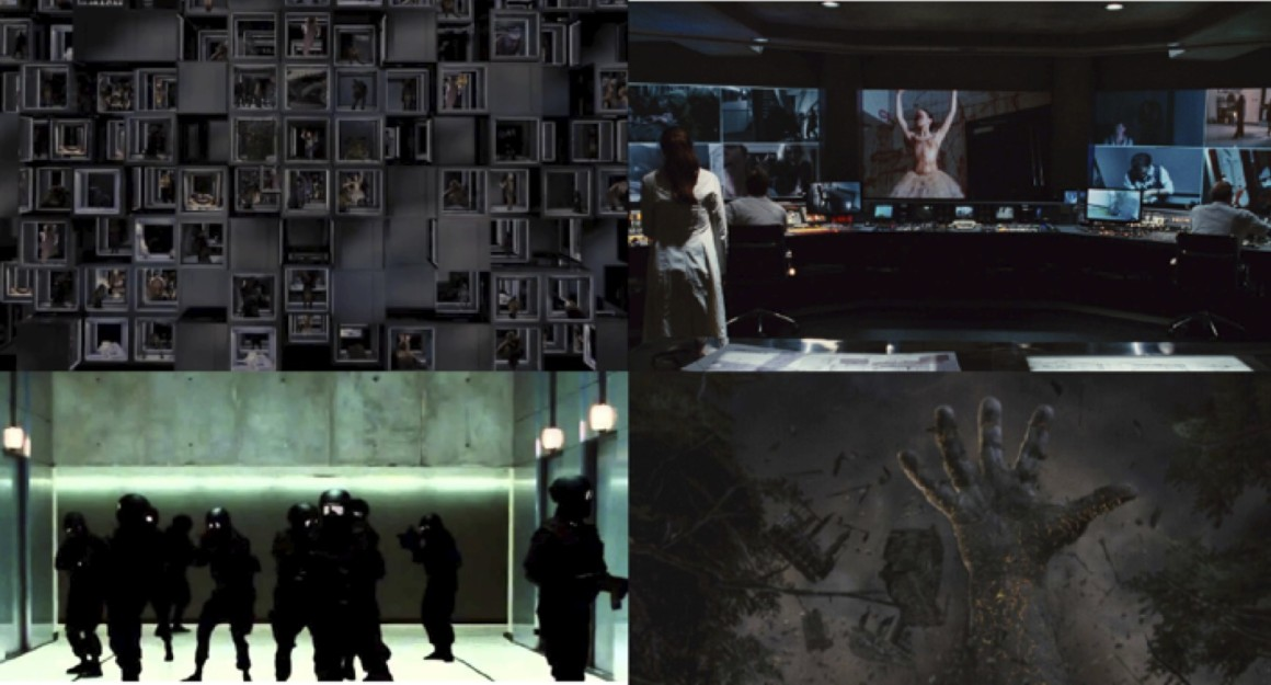 """""""The Cabin in the Woods,"""" Four Images. (2012)"""