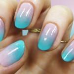 cheesy pastel nails