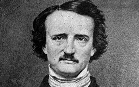 POE...** FILE ** Edgar Allen Poe is pictured in this undated file photo. A letter bearing the swirling black signature of Poe could bring a church $20,000 or more at an auction this week. Paul Haubrich found the letter 15 months ago inside a walk-in safe at St. Paul's Episcopal Church in Milwaukee. Christie's in New York will auction the letter Tuesday, April 8, 2003, with other literary materials. (AP Photo, File)