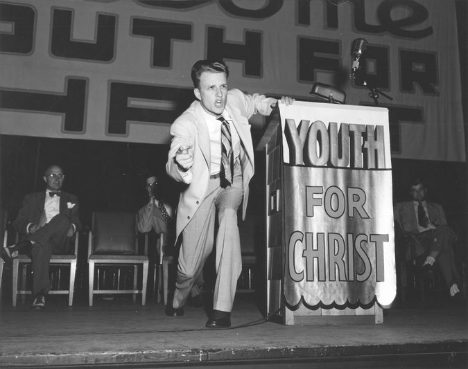 at the altar with billy graham avidly